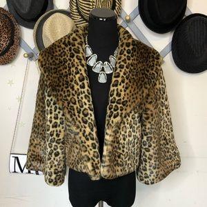 Newport News faux fur jacket